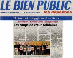 Article du Bien Public - 2009