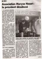 Article de l'Yonne Républicaine - Novembre 2008